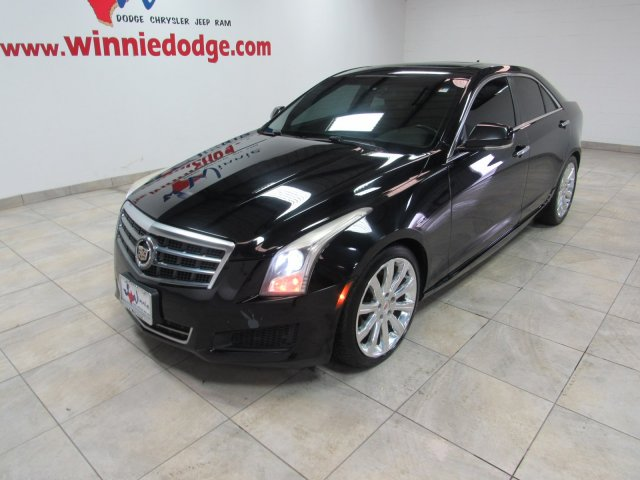 Pre-Owned 2014 Cadillac ATS Luxury RWD 2.0L Turbo w/ Nav. System & Back Up Camera