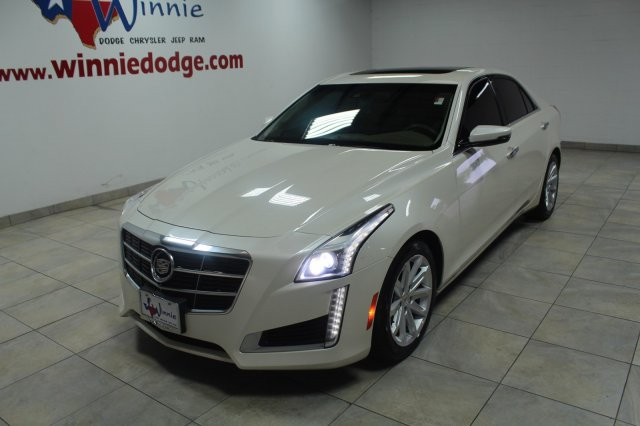 Pre-Owned 2014 Cadillac CTS Sedan Luxury RWD 2.0L Turbo w/ Nav. System & Back Up Camera