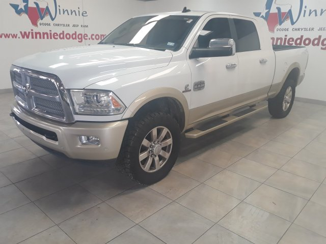 Pre-Owned 2016 Ram 2500 Longhorn Mega Cab 4X4 w/ Nav. System & Back Up Camera