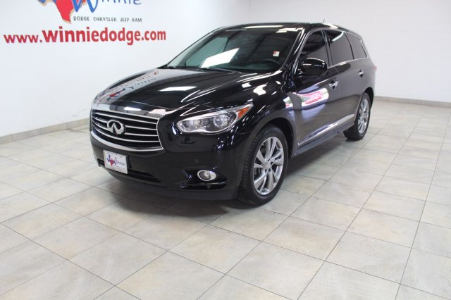 Pre-Owned 2013 INFINITI JX35 4WD w/ Nav System &TV/DVD