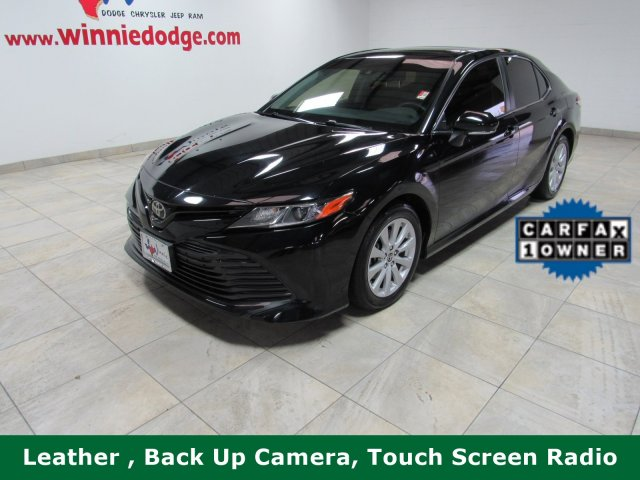 Pre-Owned 2018 Toyota Camry LE Leather w/ Touch Screen Radio & Back Up Camera
