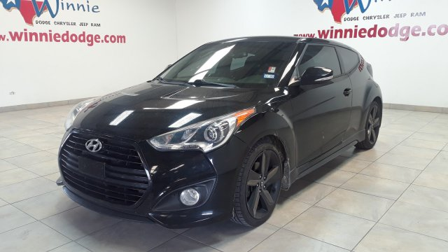 Pre Owned 2013 Hyundai Veloster Turbo W Blue Int W Leather Interior Touch Screen Radio