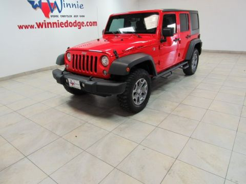 Pre-Owned 2017 Jeep Wrangler Unlimited Rubicon 4X4 w/ Hard Top