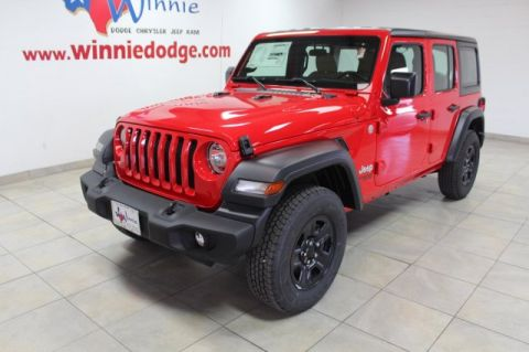 NEW 2018 JEEP WRANGLER UNLIMITED SPORT 4X4