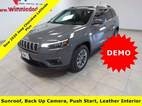 GROUNDED DEMO 2020 JEEP CHEROKEE LATITUDE PLUS FWD 4D SPORT UTILITY