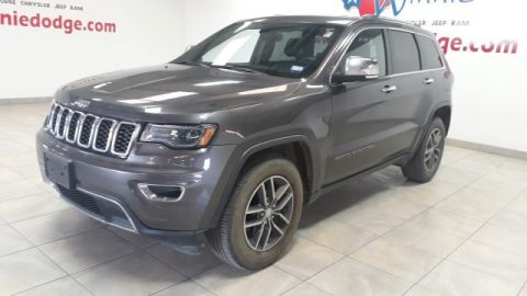 Pre-Owned 2017 Jeep Grand Cherokee Limited Leather w/ Nav. System & Sunroof