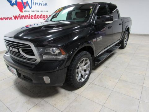 Pre-Owned 2018 Ram 1500 Limited 4x4 w/Nav System & Back Up Camera