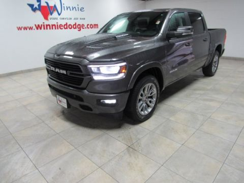 Pre-Owned 2019 Ram 1500 Laramie w/ Nav System & Back Up Camera