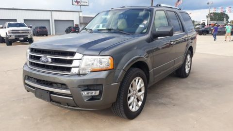 Pre-Owned 2015 Ford Expedition Limited Leather w/ Nav. System & Sunroof