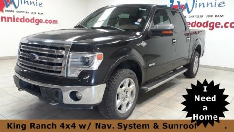 Pre-Owned 2014 Ford F-150 King Ranch 4x4 w/ Nav. System & Sunroof