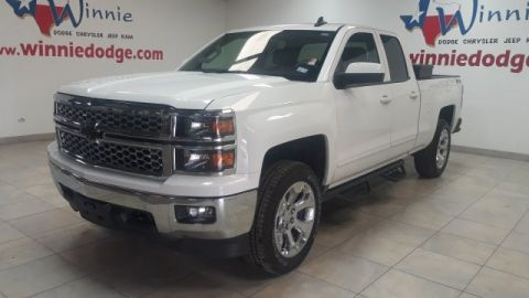 Pre-Owned 2015 Chevrolet Silverado 1500 LT 4X4 w/ Leather Interior & Back Up Camera
