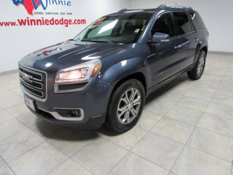 Pre-Owned 2013 GMC Acadia SLT w/ Nav System & Sunroof