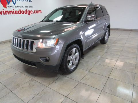 Pre-Owned 2011 Jeep Grand Cherokee Limited Leather w/ Nav. System & Sunroof