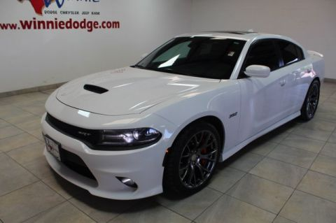 Pre-Owned 2017 Dodge Charger SRT 392 6.4 L v8 w/ Nav System & Sunroof