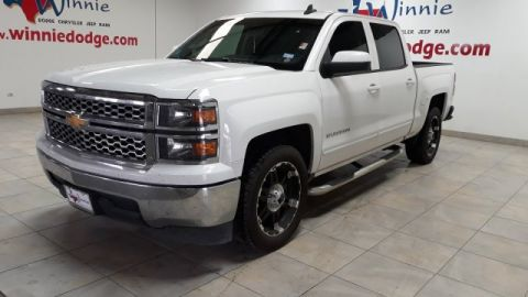 Pre-Owned 2015 Chevrolet Silverado 1500 LT w/ Custom Wheels & Tires