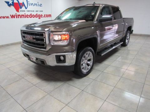 Pre-Owned 2015 GMC Sierra 1500 SLT 4x4 Texas Edition Leather w/ Nav System & Back Up Camera