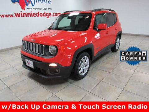 Pre-Owned 2016 Jeep Renegade Latitude w/ Back Up Camera & Touch Screen Radio